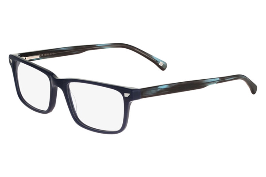 altair eyewear a4035 eyeglasses in 400 navy
