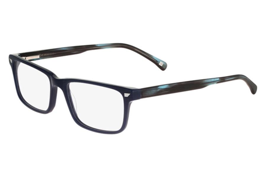 altair eyewear a4035 eyeglasses in 400 navy