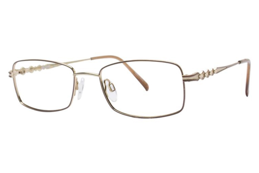 Aristar AR 16314 Eyeglasses in 573 Light Brown