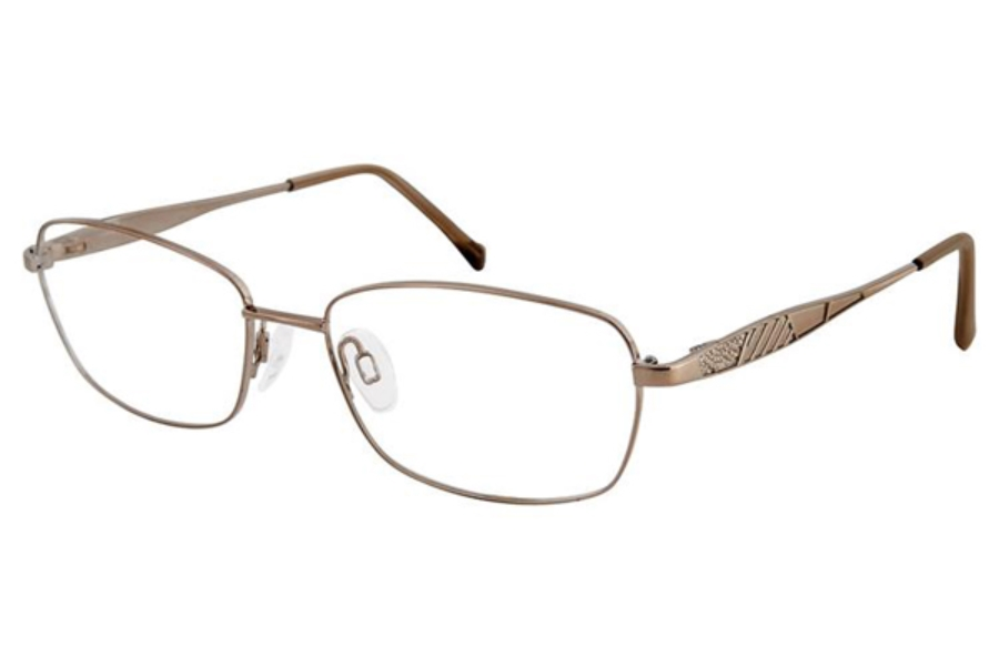 Aristar AR 16377 Eyeglasses in Light Brown
