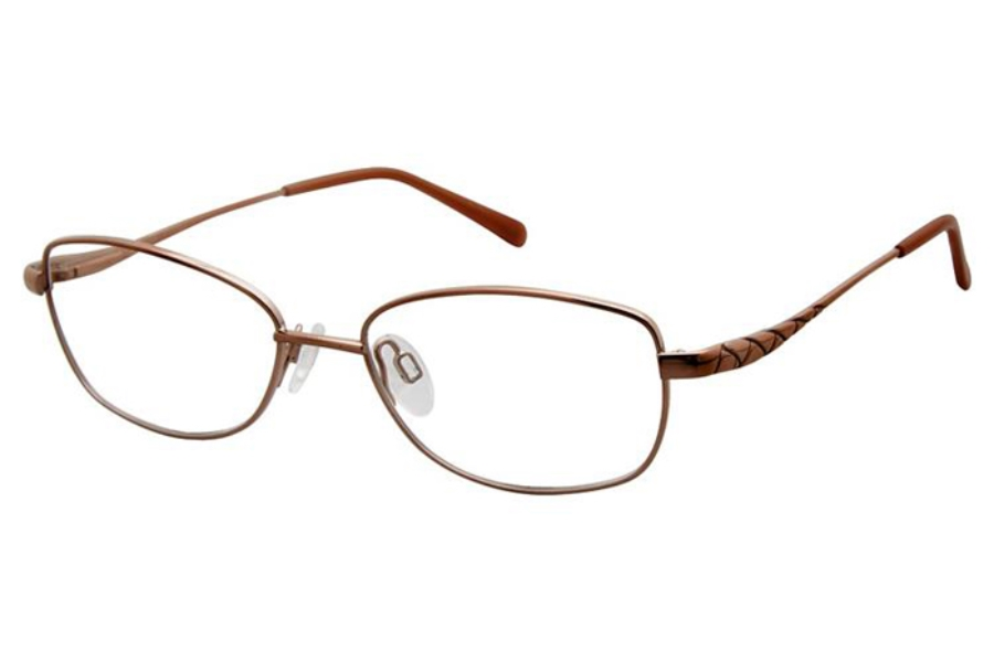 Aristar AR 16384 Eyeglasses in Peach