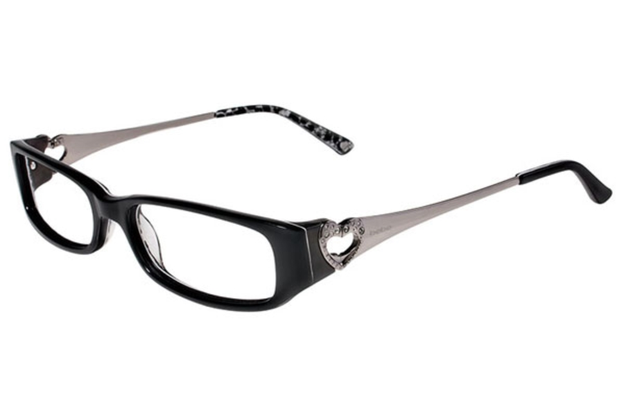 Bebe BB5020 Breezy Eyeglasses in 001 Black Lace