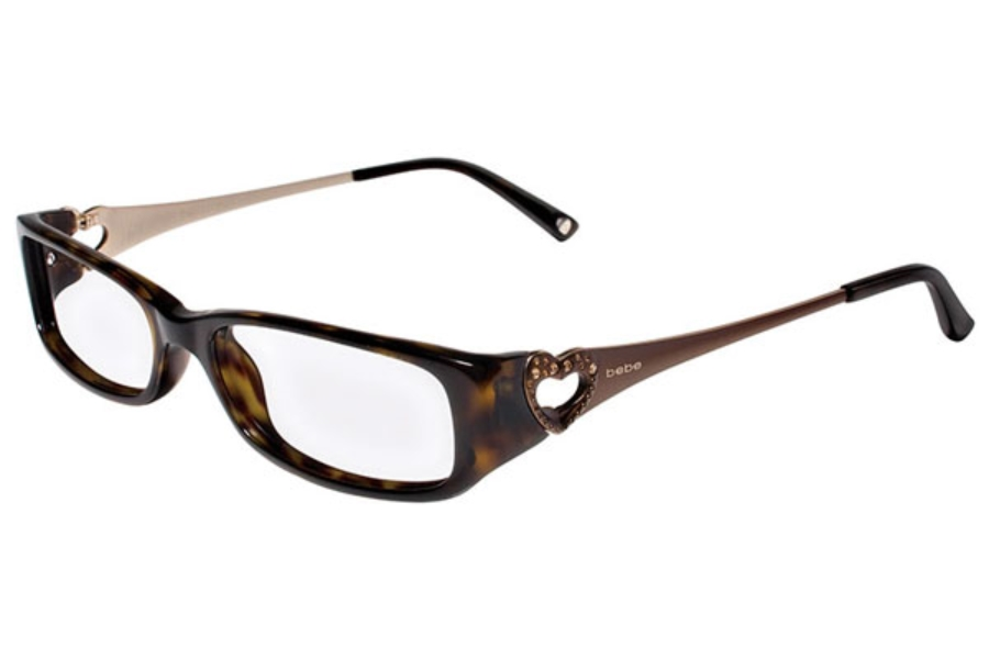 Bebe BB5020 Breezy Eyeglasses in 003 Tortoise