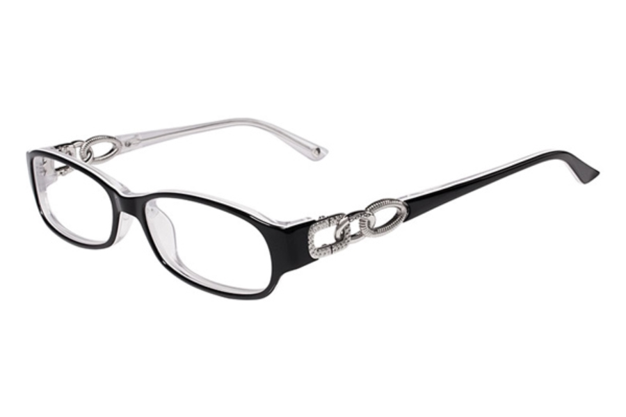 Bebe BB5022 Bangles Eyeglasses in 002 JET