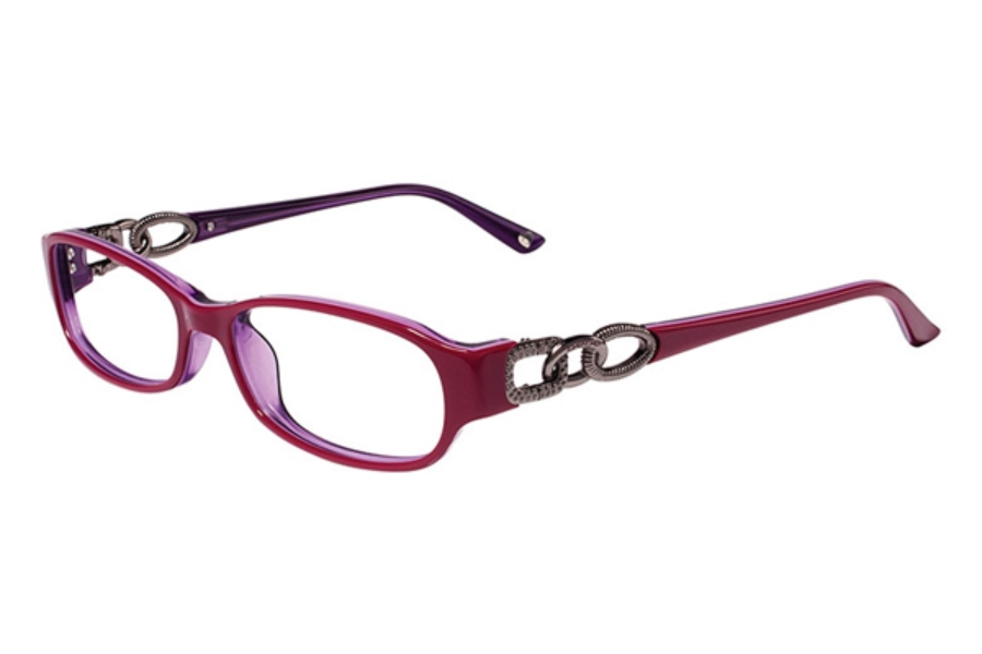 Bebe BB5022 Bangles Eyeglasses in 001 BURGUNDY