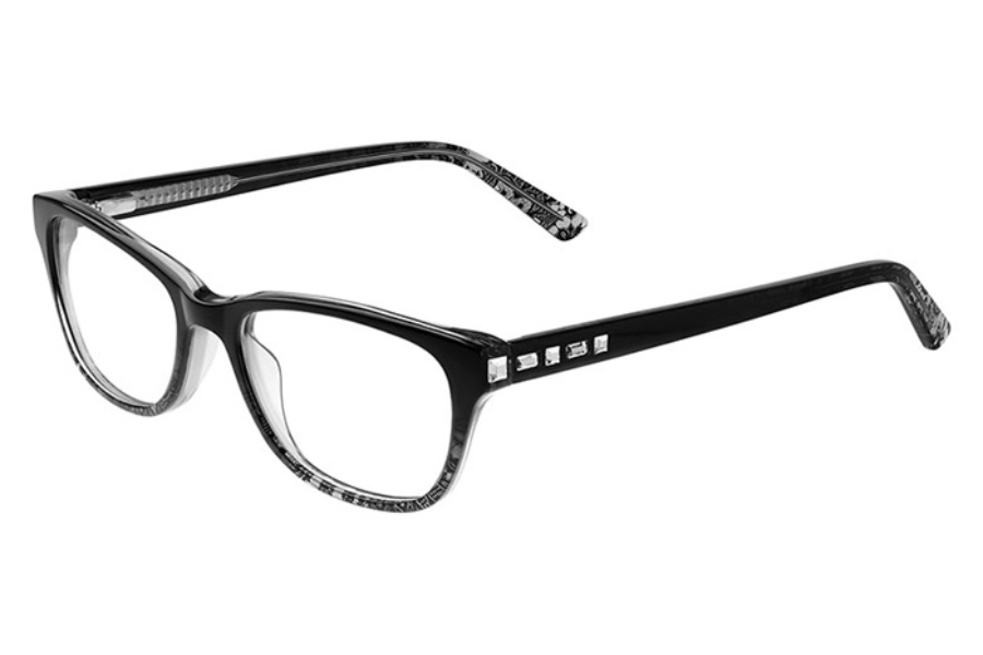 Bebe BB5142 Wholesome Eyeglasses in 001 Jet Lace