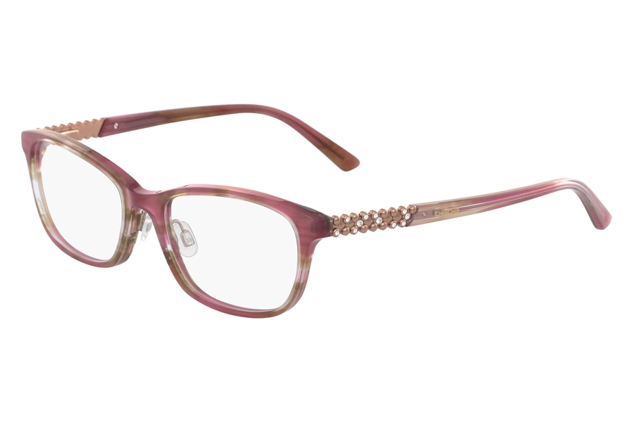 Bebe BB5154 Eyeglasses in 770 Rose Horn