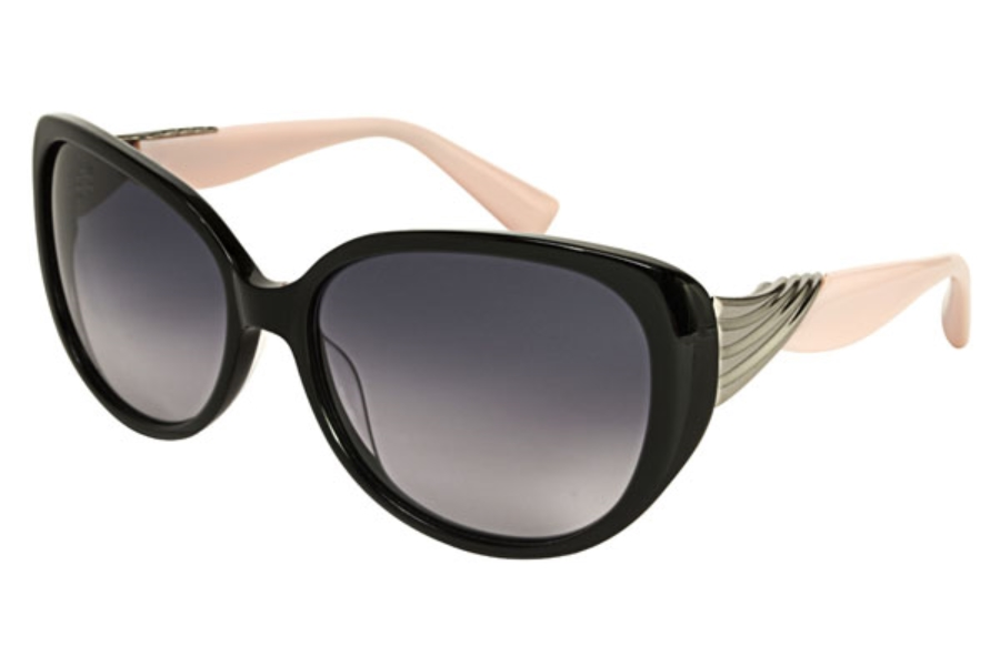 Badgley Mischka Sabine Sunglasses in Black