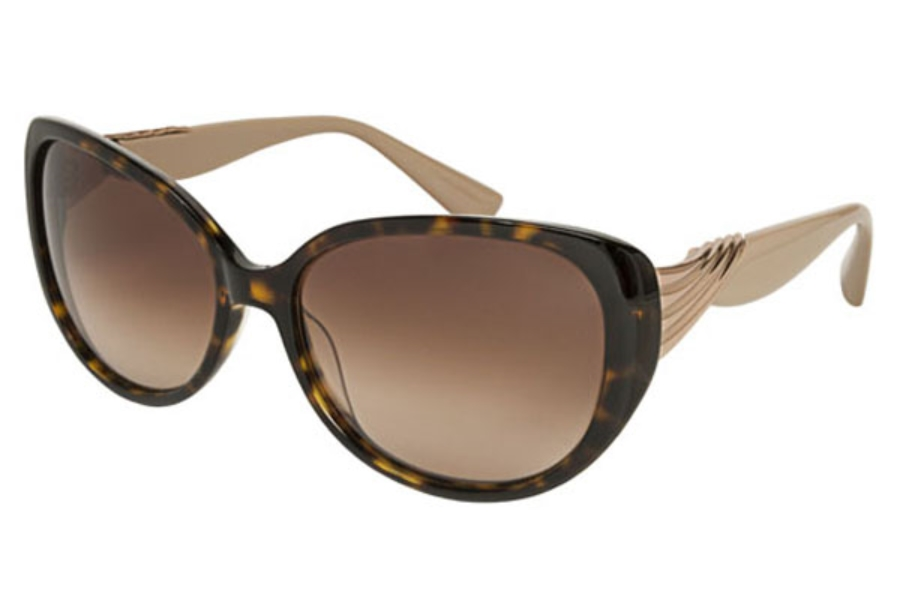 Badgley Mischka Sabine Sunglasses in Tortoise
