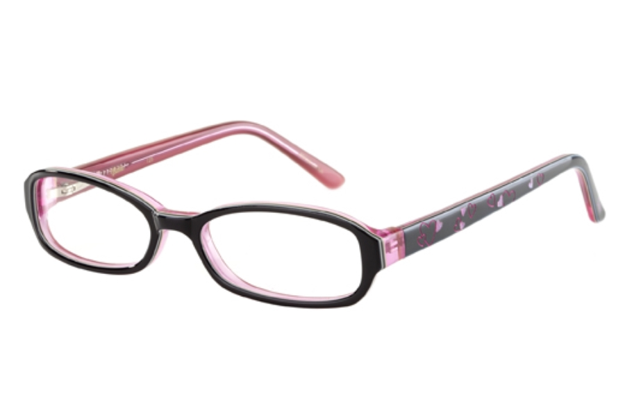 Barbie B510 Eyeglasses in Black Ribbon
