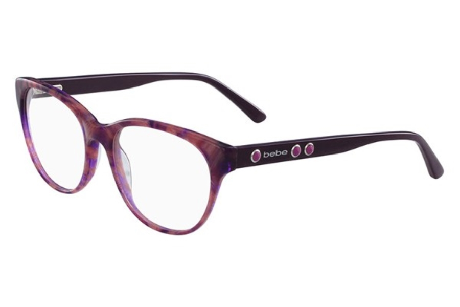 Bebe BB5138 Vicarious Eyeglasses in 505 Plum