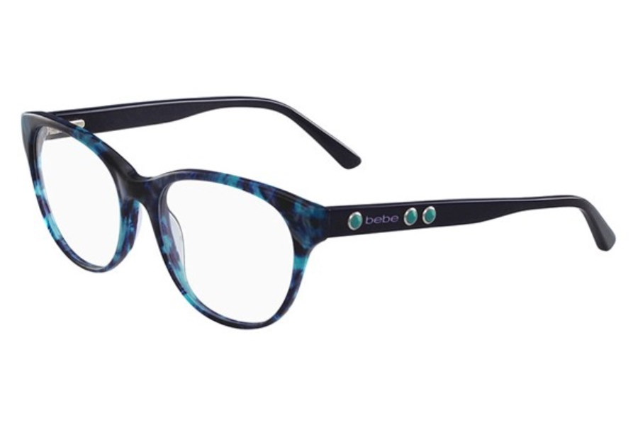 Bebe BB5138 Vicarious Eyeglasses in 440 Teal