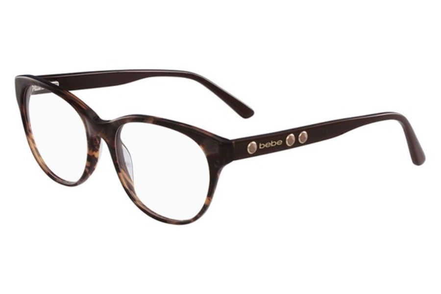 Bebe BB5138 Vicarious Eyeglasses in 215 Topaz