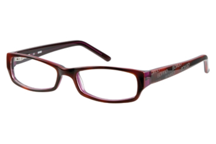 Bongo B SATIN Eyeglasses in Tortoise Red