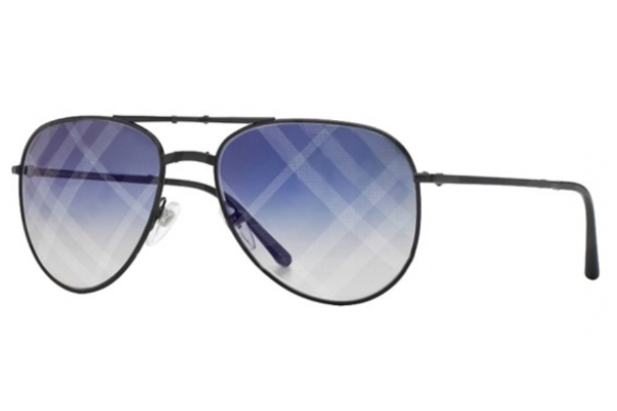 burberry blue sunglasses vrus  Burberry BE3071 Sunglasses in 1001B2 Black Gradient Blue Mirror Violet