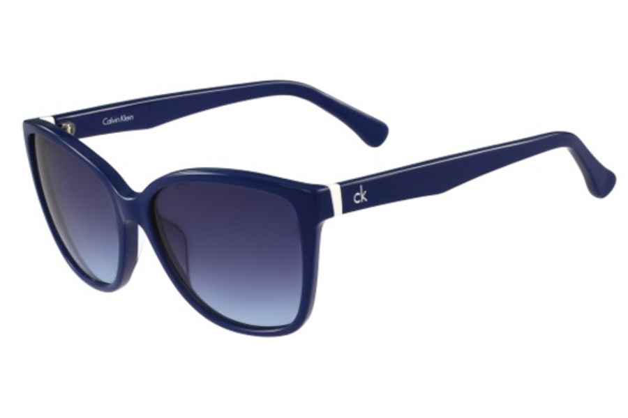 Calvin Klein Damen Sonnenbrille » CK4258S«, blau, 438 - blau