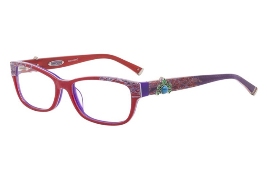 Coco Song CRAZY RED Eyeglasses in Coco Song CRAZY RED Eyeglasses