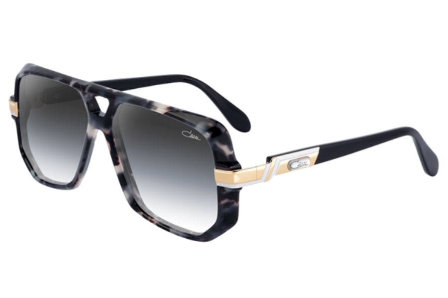 Cazal Legends 627 Sunglasses in 090-3 Black Mable