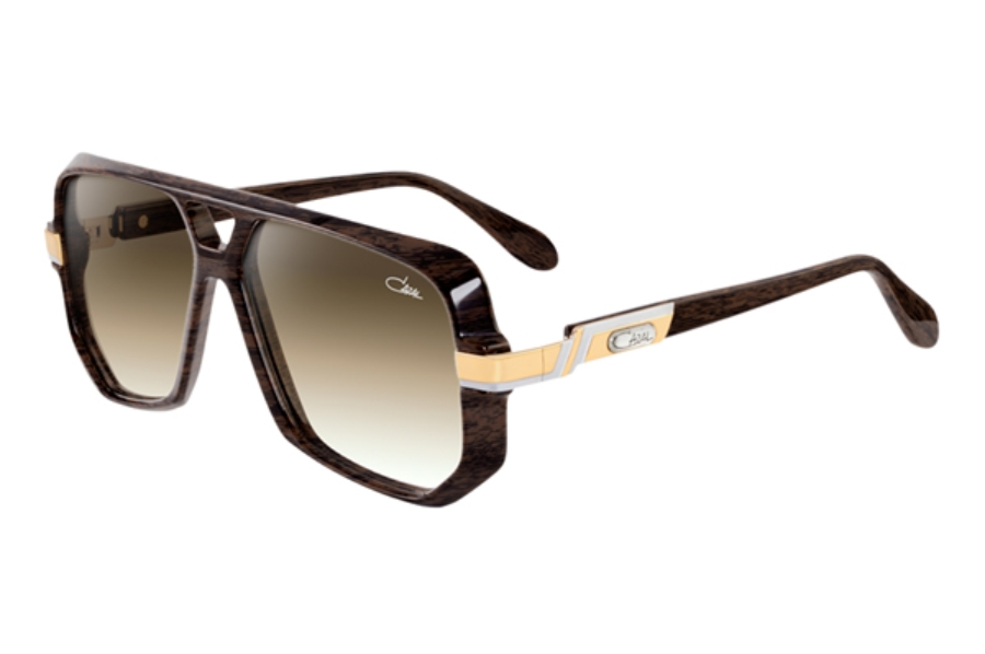 Cazal Legends 627 Sunglasses in 096-3 Dark Wood
