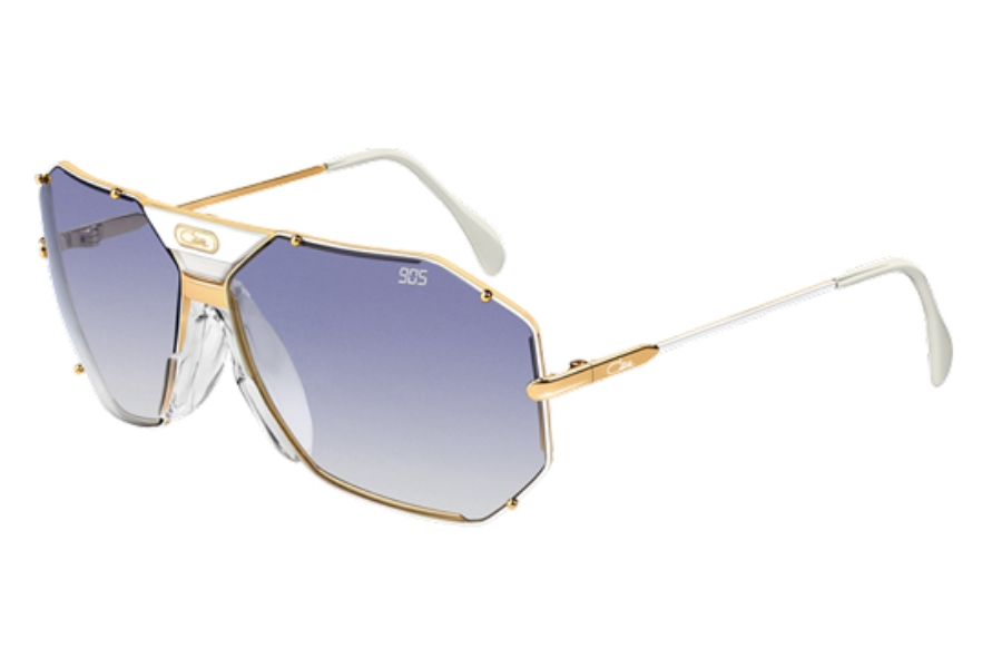 Cazal Legends 905 Sunglasses in 332 White- Gold