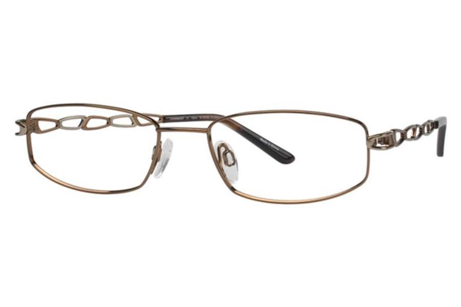 Eyeglass Frame V2020 : Charmant Titanium TI 10860 Eyeglasses FREE Shipping