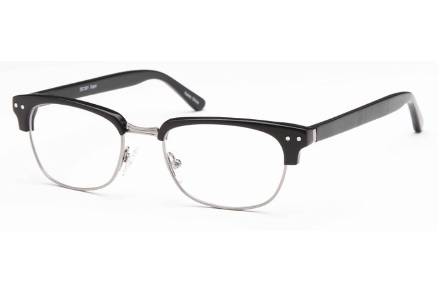 Dicaprio DC 301 Eyeglasses in Black