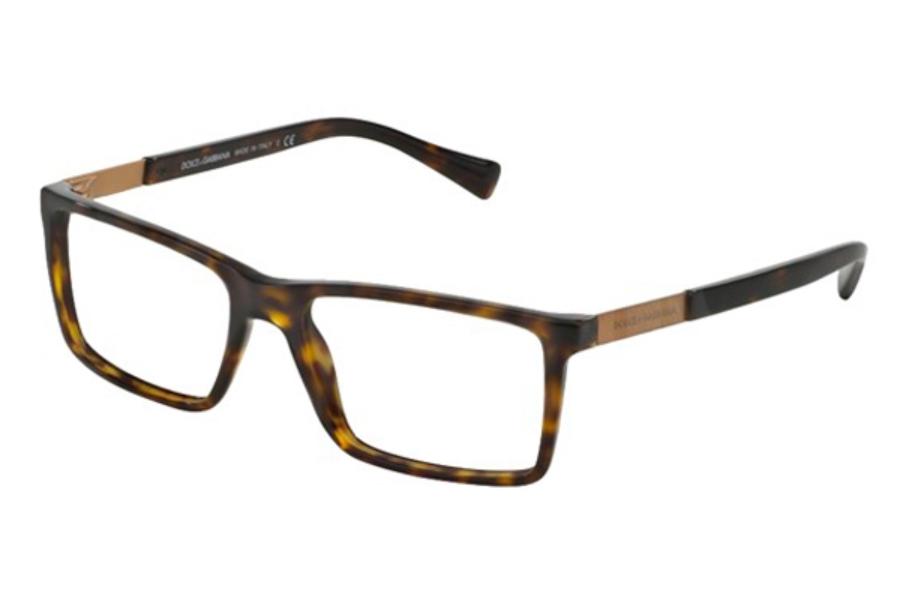 dolce gabbana dg 3217 eyeglasses in 502 havana - Dolce And Gabbana Glasses Frames