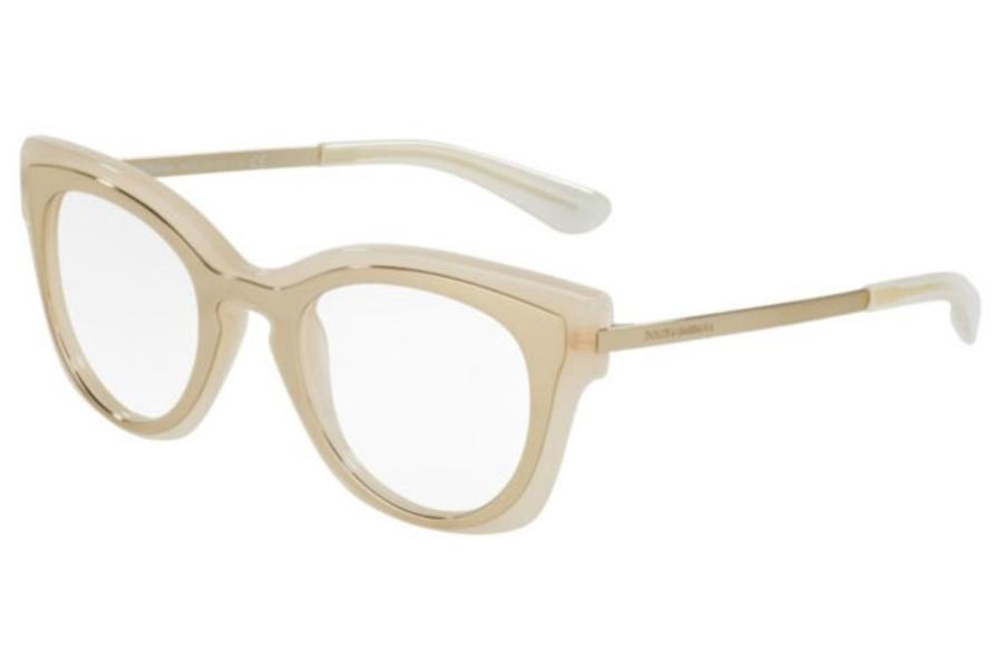Gold Coloured Glasses Frames : Dolce & Gabbana DG 5020 Eyeglasses FREE Shipping