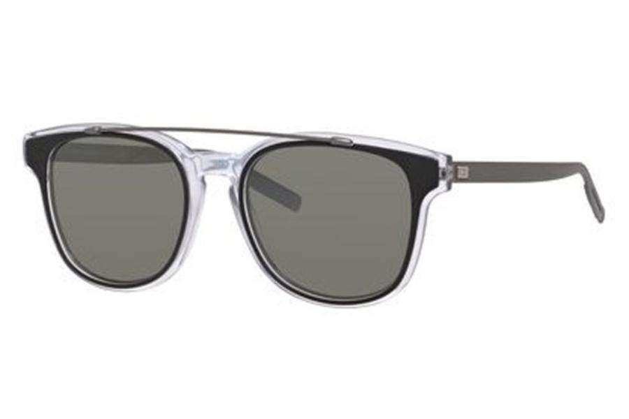 Dior Homme 211S Sonnenbrille Havana Kristall LCQ 52mm hAM0QwnRK