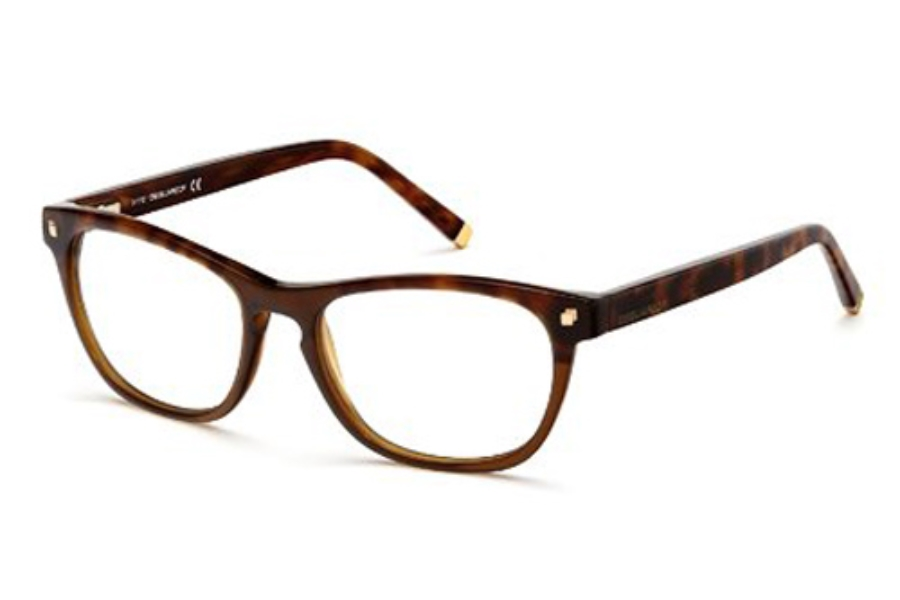 Dsquared DQ5084 Eyeglasses in 050 Dark Brown/Other