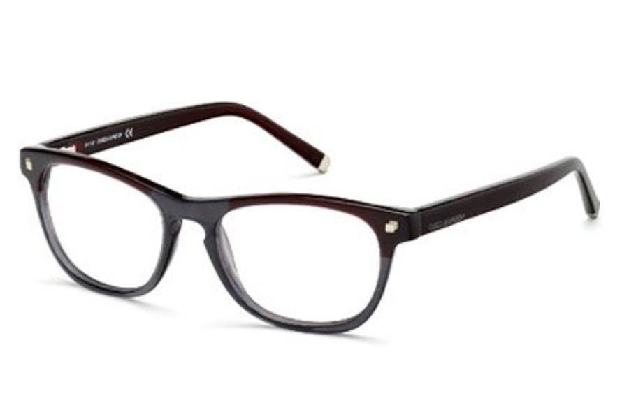 Dsquared DQ5084 Eyeglasses in 071 Bordeaux/Other