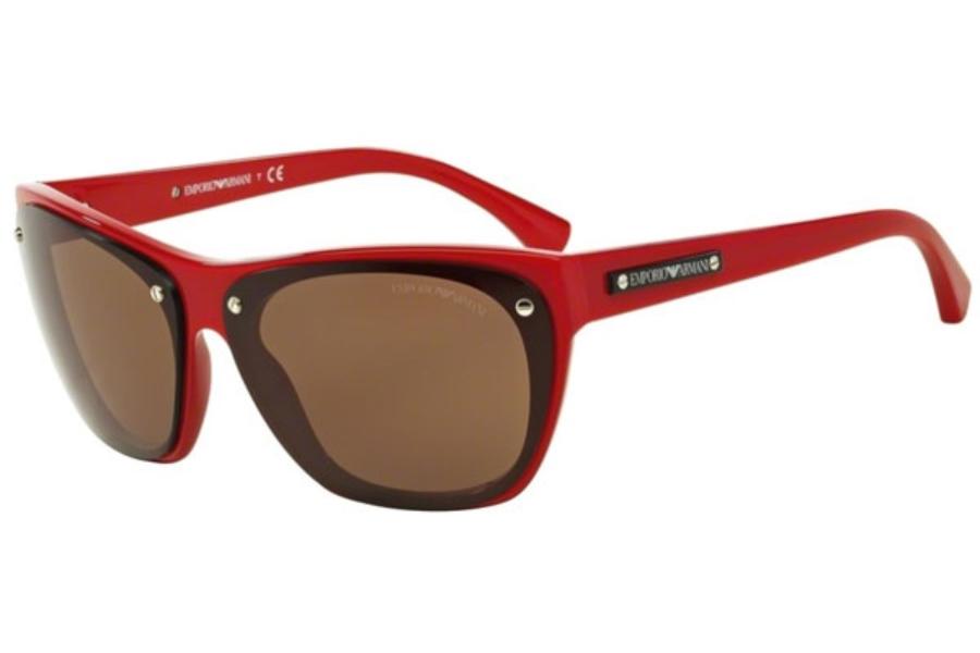 Ea4059 506173 Top Black On Red Brown 64/11 140 W48hRLm