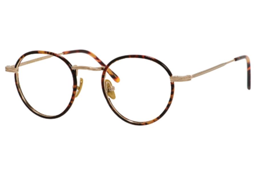 ernest hemingway h4681 eyeglasses in gold tortoise - Ernest Hemingway Frames