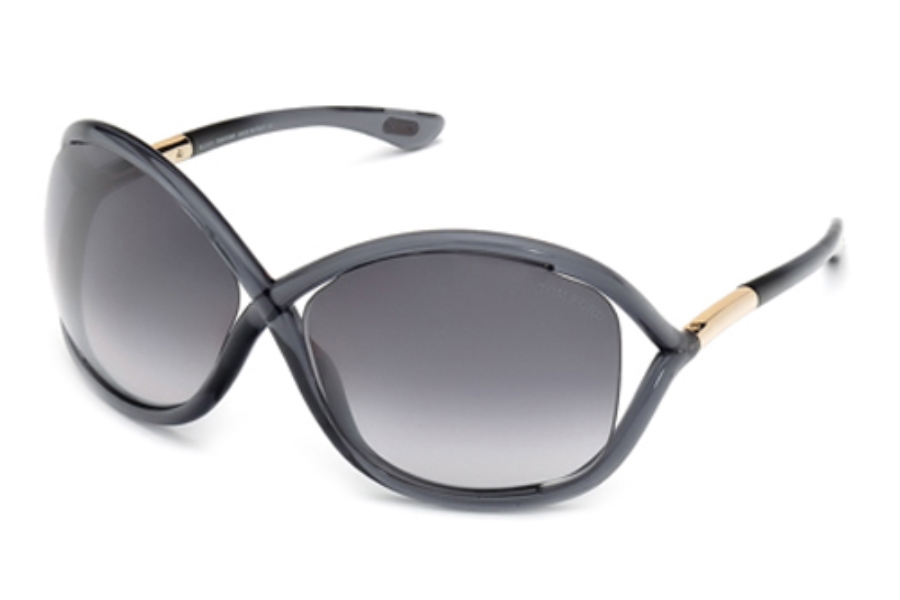 tom ford ft0009 whitney sunglasses in 0b5 shiny transparent dark grey. Cars Review. Best American Auto & Cars Review