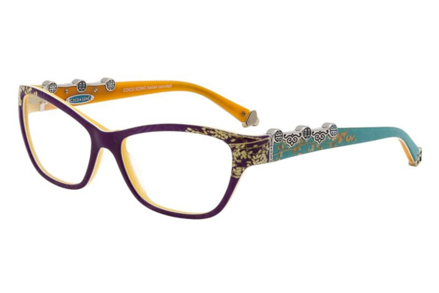 Coco Song FUNKY BLUE Eyeglasses in Coco Song FUNKY BLUE Eyeglasses