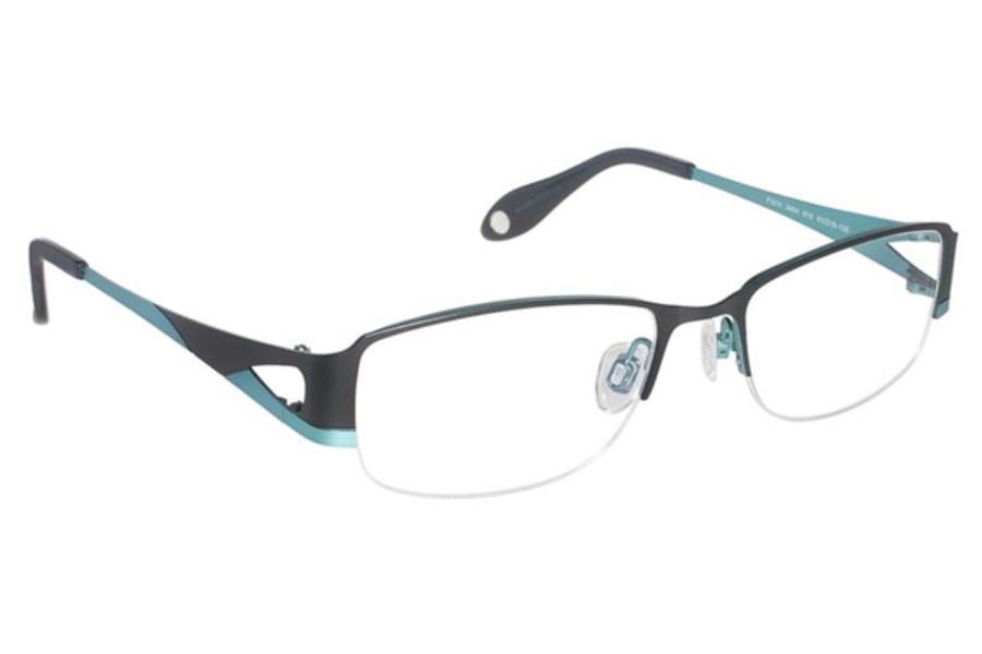 FYSH UK Collection FYSH 3464 Eyeglasses in 915 Black/Turquoise