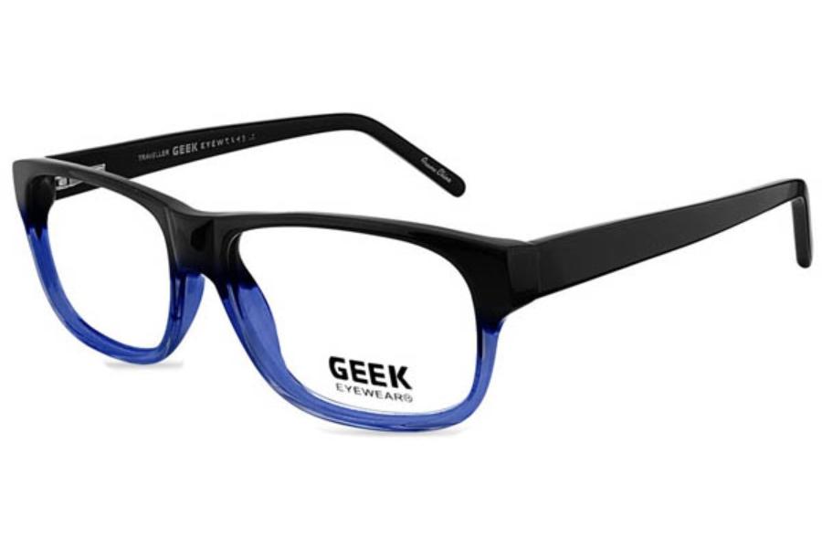 Glasses Frames Geek : Geek Eyewear GEEK TRAVELLER Eyeglasses - Go-Optic.com
