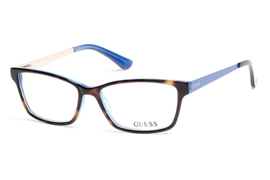 Guess Ladies Eyeglass Frames : Guess GU 2538 Eyeglasses FREE Shipping - Go-Optic.com
