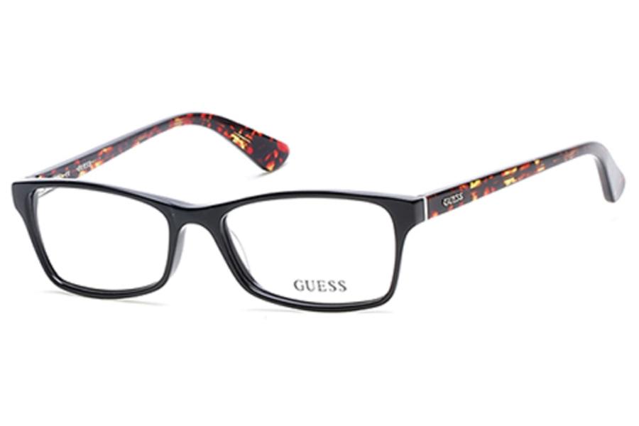Guess Red Eyeglass Frames : Guess GU 2549 Eyeglasses FREE Shipping - Go-Optic.com