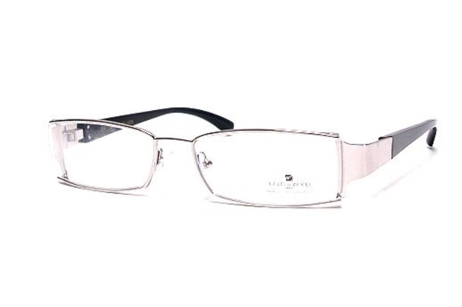 Gold & Wood I01.16 Eyeglasses in silver