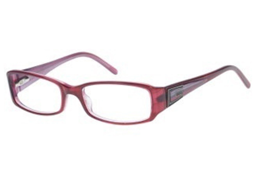 Guess GU 1559 Eyeglasses in BU BURGUNDY