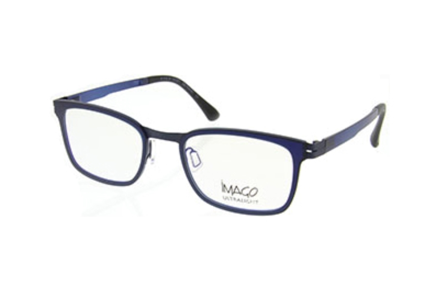 Imago Ultralight Proton Eyeglasses in Col. 16 Metal Navy