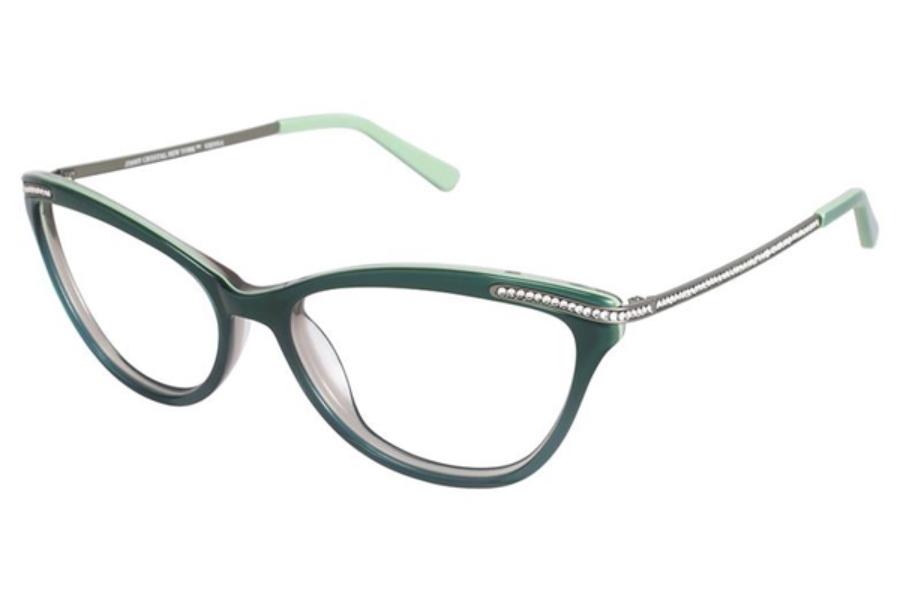 Jimmy Crystal New York Vienna Eyeglasses Free Shipping