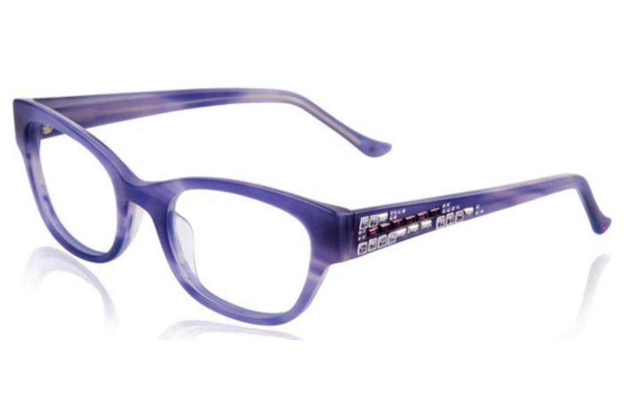 judith leiber jl1684 staccato eyeglasses free shipping