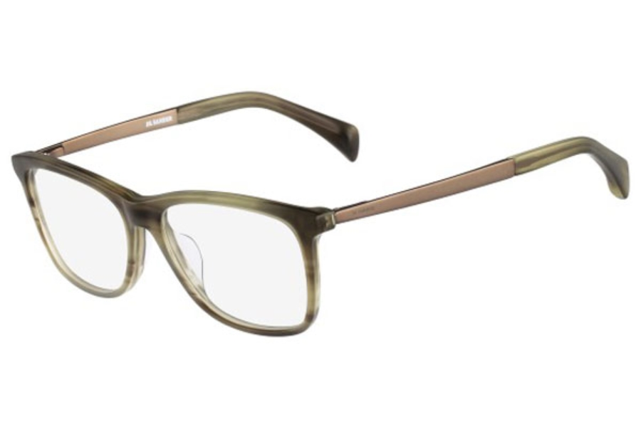 jil sander js2732 eyeglasses free shipping go