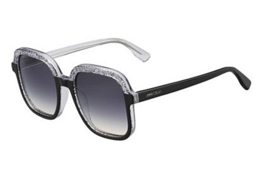 Glint Sunglasses in Blue Orange Glitter GLINT/S OTG 53 Jimmy Choo London Z9u7gr20