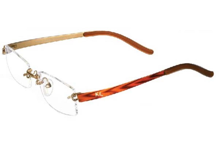 Kazuo Kawasaki 704 Deco Eyeglasses FREE Shipping