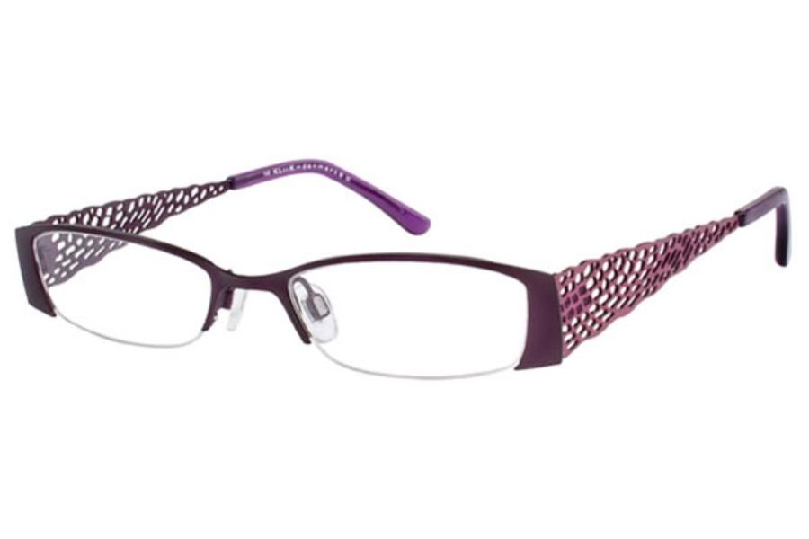 Eyeglass Frames Kliik : Kliik KLiiK 419 Eyeglasses FREE Shipping - Go-Optic.com