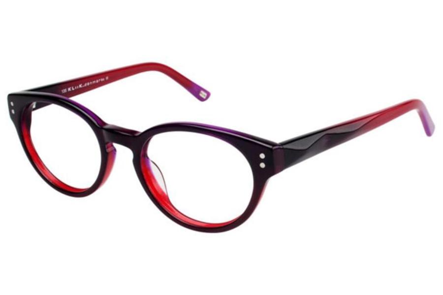 Eyeglass Frames Kliik : Kliik KLiik 495 Eyeglasses FREE Shipping - Go-Optic.com