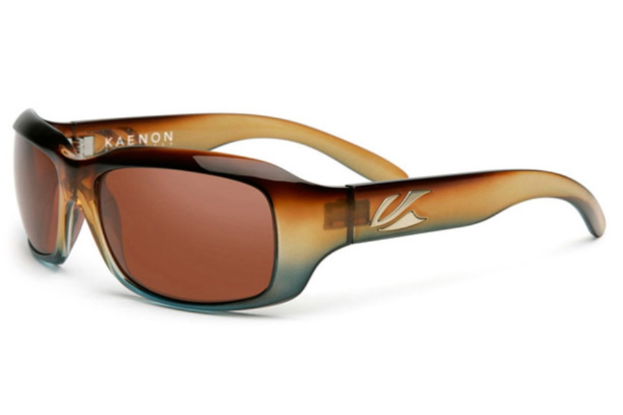Kaenon BOLSA Sunglasses in Tobacco Denim / Copper 12% Polarized Lens